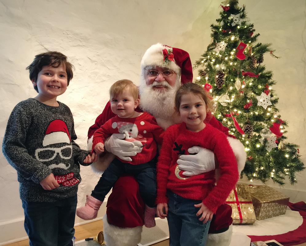 Notre rencontre annuelle avec le père Noël
