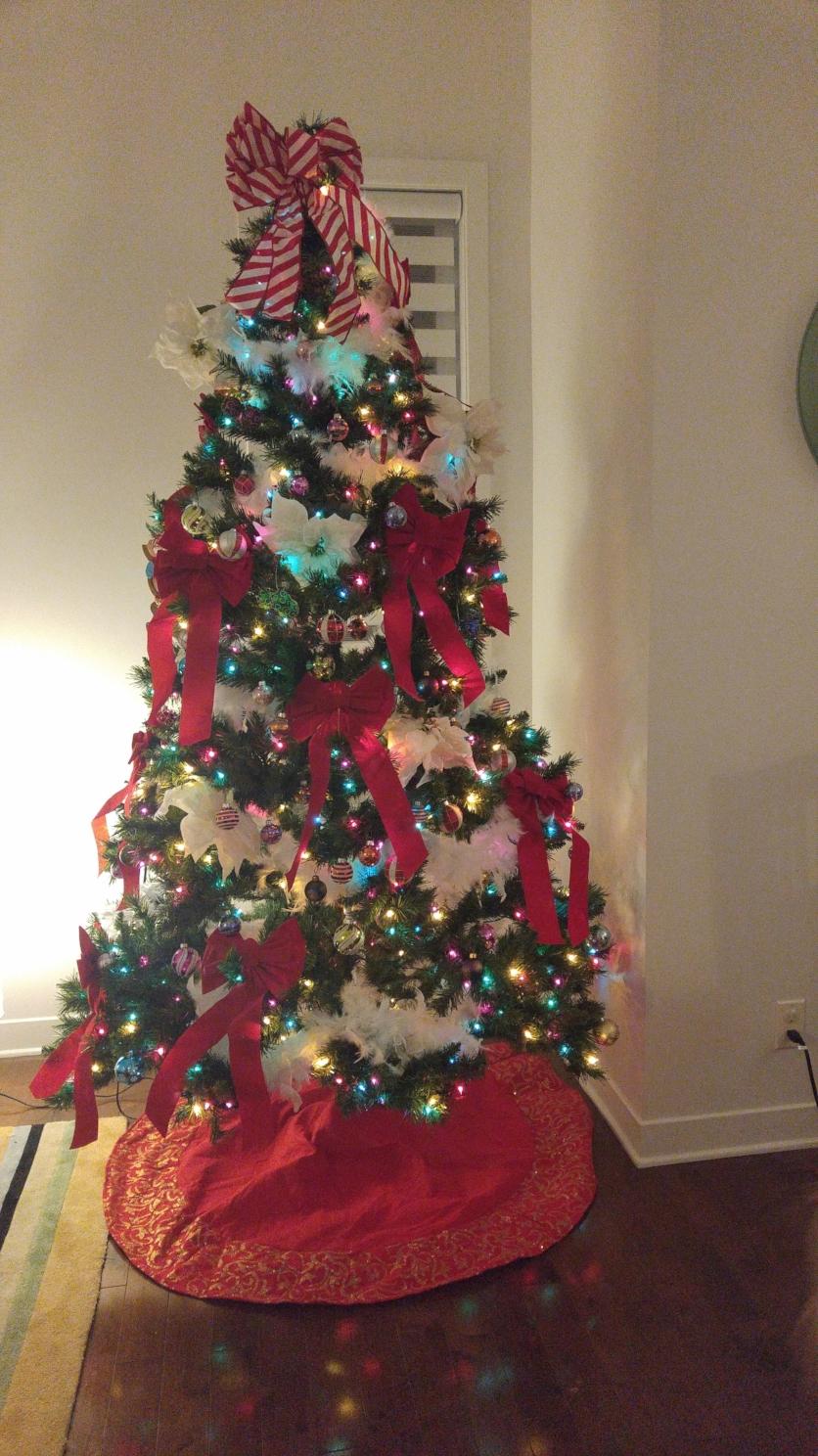...rendu au 25 décembre, il n'en reste presque plus à déballer!  Photo : Émilie Poirier