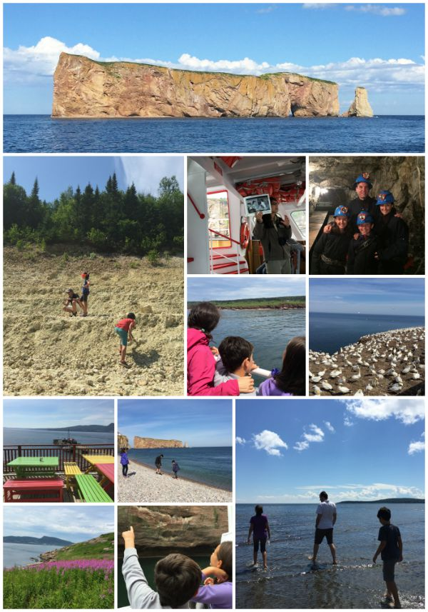 activités en Gaspésie