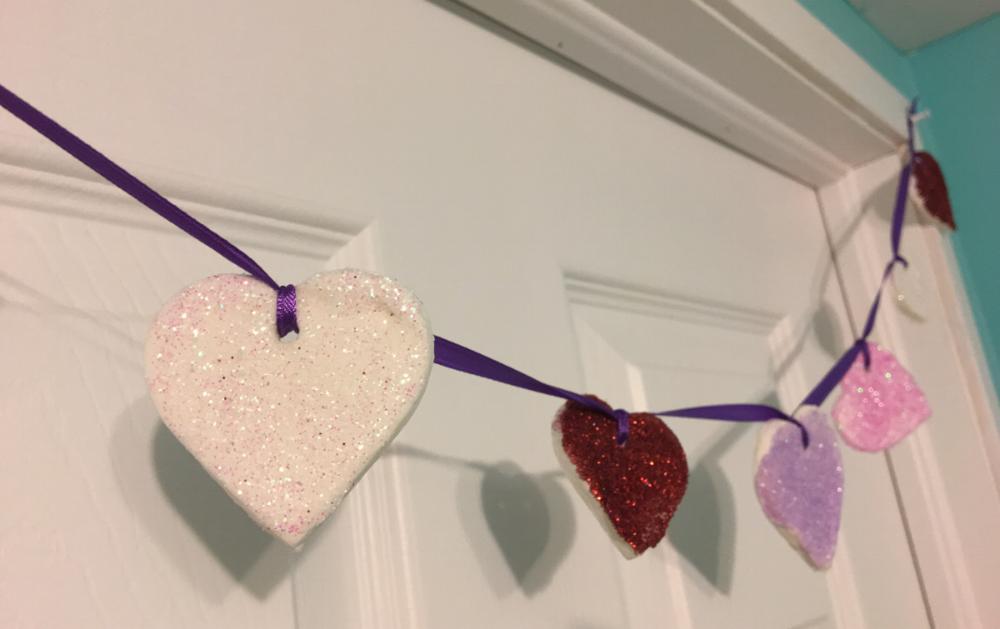 petits coeurs pour la St-Valentin