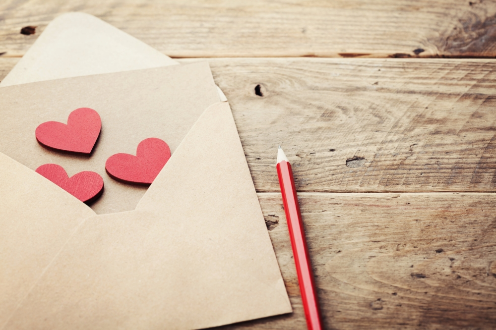 lettre d'amour, famille reconstituée, enfants, mots