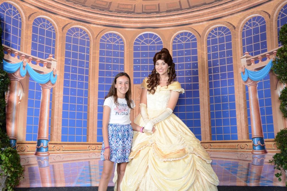 Princesse La Belle et la Bête, Disney