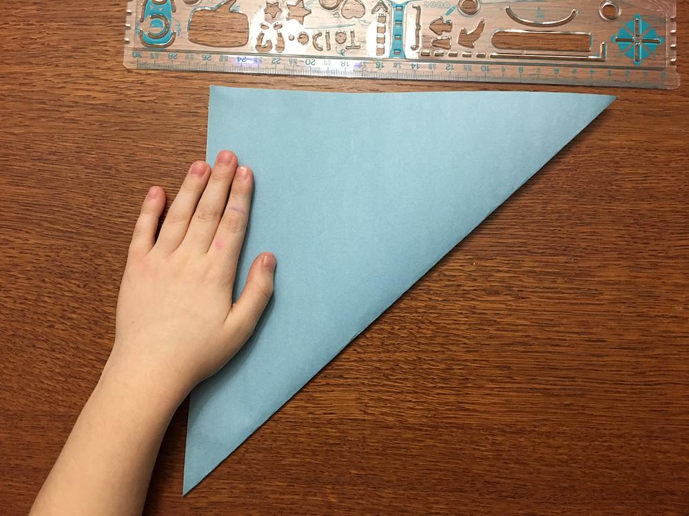 fabrication d'un flocon de carton
