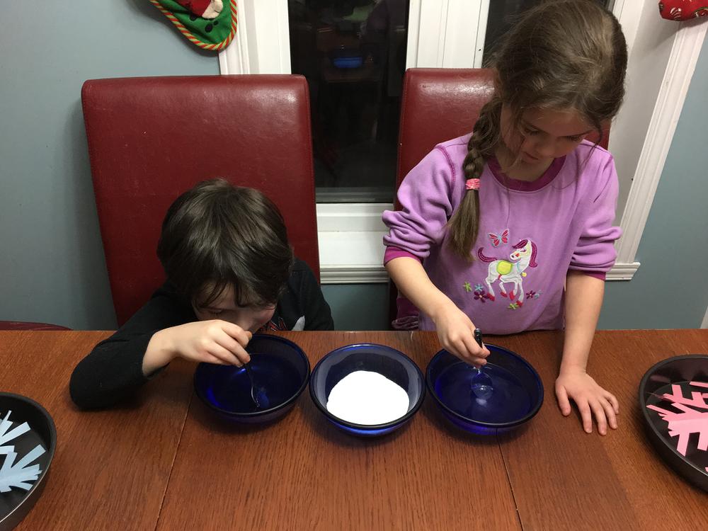 expérience à faire avec les enfants