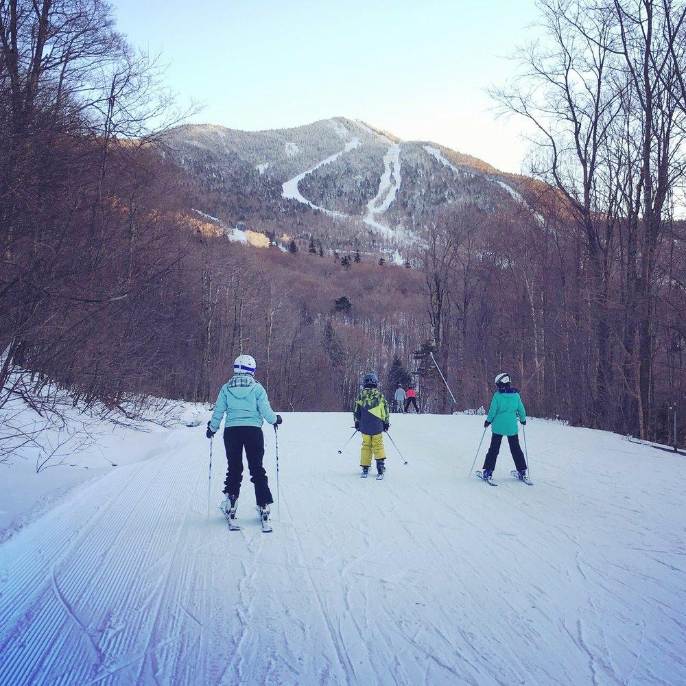 Smuggler's Notch, voyage de ski, Vermont, montagne, nature, sport
