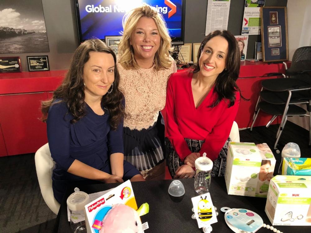chronique  télé, Global Montréal, cadeau grossesse, bébé, enfants