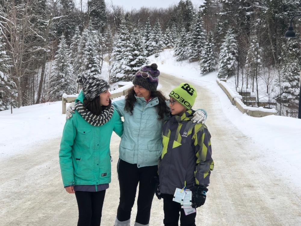 Voyager en famille-voyage de ski-Smugglers' Notch-Vermont-près de Montréal