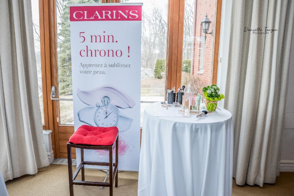 Clarins-partenaire du 9e rassemblement Je suis une maman-Merci-événement-mamans-Jaime Damak