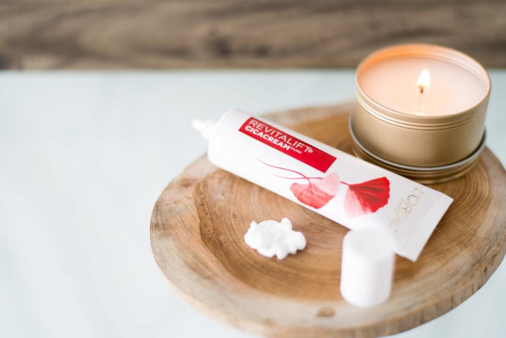 Prendre soin de soi-L'Oréal-Crème-hydratation-conseil-beauté-vieillir-antiride-routine beauté-Jaime Damak-collaboration-Je suis une maman