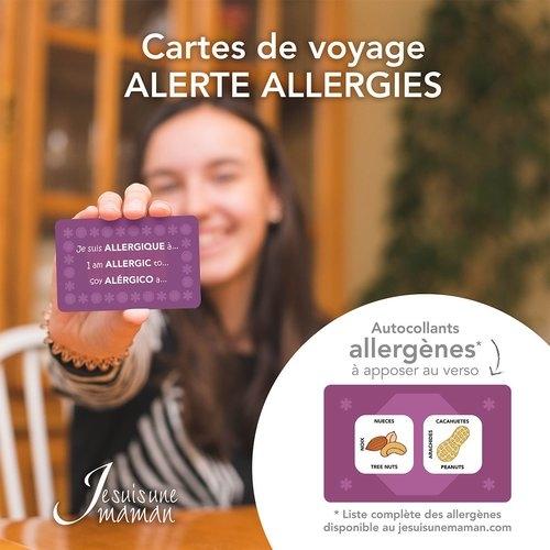 Carte allergie