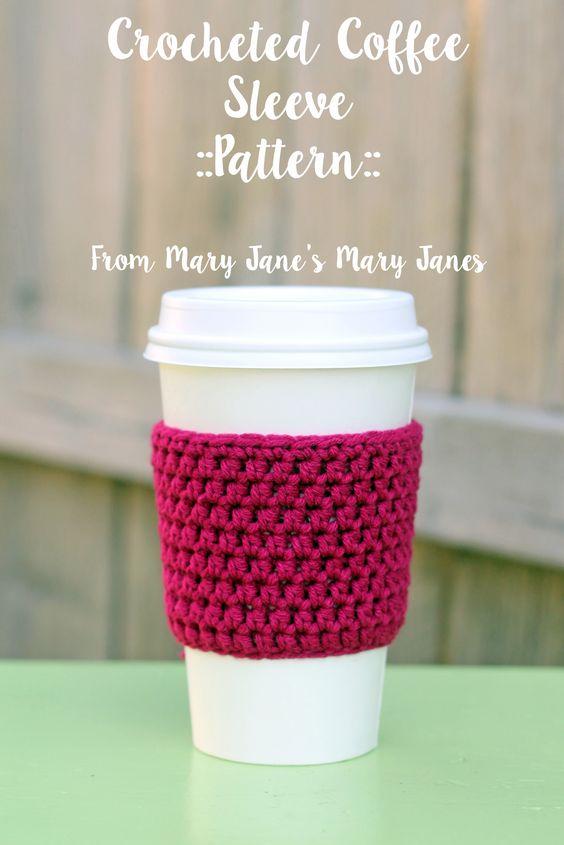 manchon pour tasse de café en tricot-crochet-crocheter-tuto-patron-Pinterest-Je suis une maman