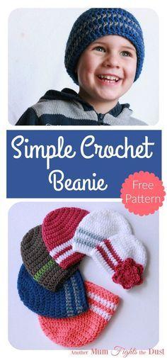 chapeau beanie en tricot-crochet-crocheter-tuto-patron-Pinterest-Je suis une maman
