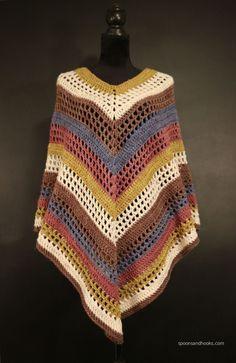 poncho en tricot-crochet-crocheter-tuto-patron-Pinterest-Je suis une maman
