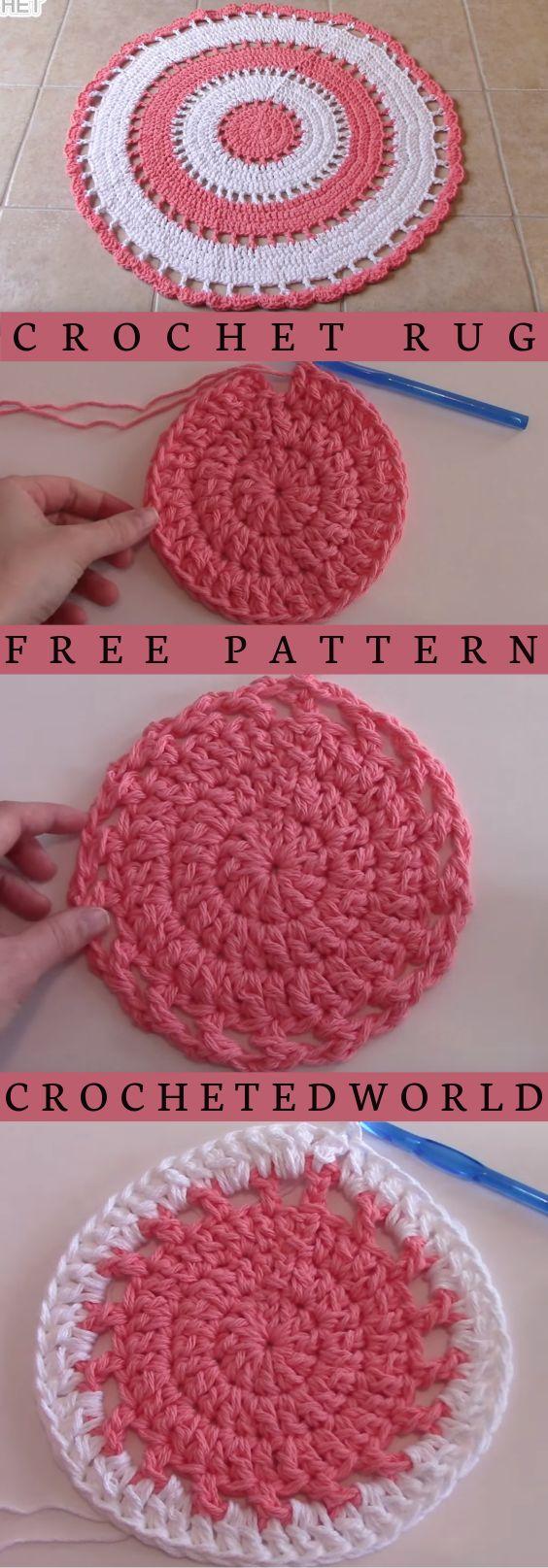 Tapis en tricot-crochet-crocheter-tuto-patron-Pinterest-Je suis une maman
