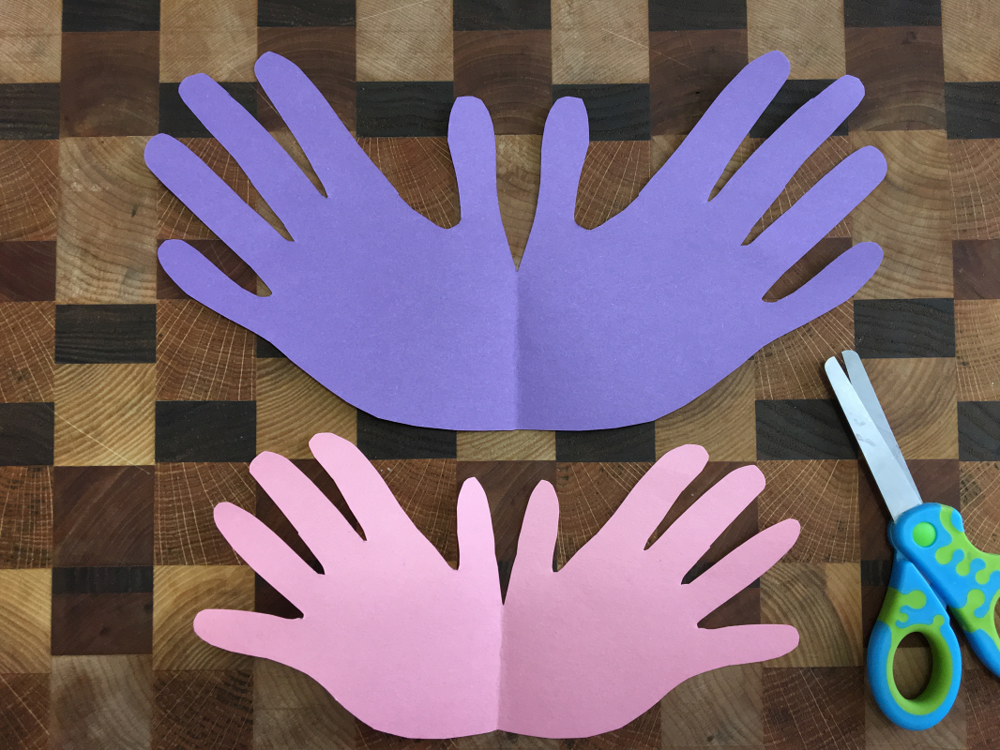 Bricolage-Maman Bricole-fête des Mères-carte pour maman-brico-DIY-papillon-traces de mains-enfants-merci maman-Je t'aime Maman-Je suis une maman-#MamanBricole