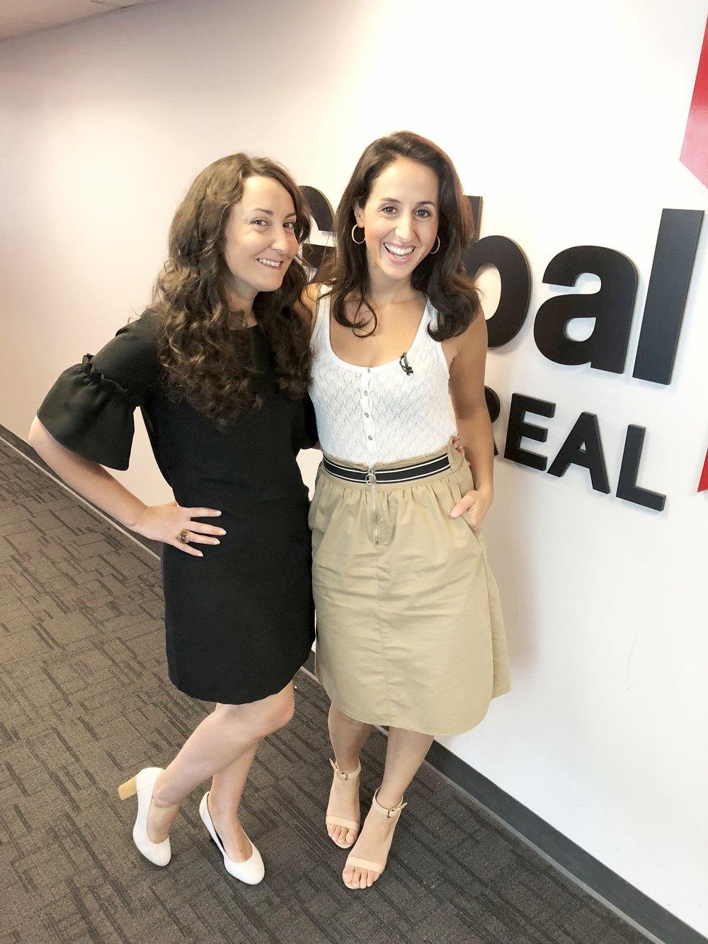 Global-Global Montréal-chronique télé-voyage en famille-look-télévision-robe-suggestions-Jaime Damak-Je suis une maman