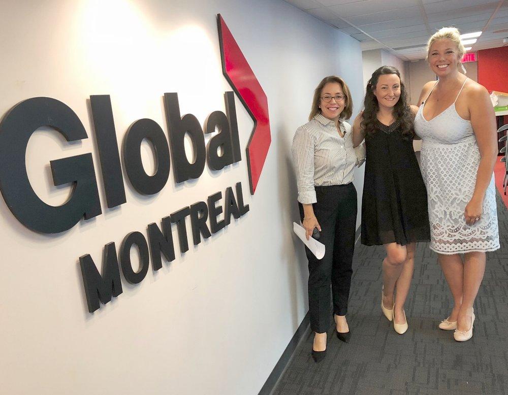 Global Montreal-Jaime Damak-Je suis une maman-family-tv appearances-bfly-musée j Armand bombardier-parc omega-
