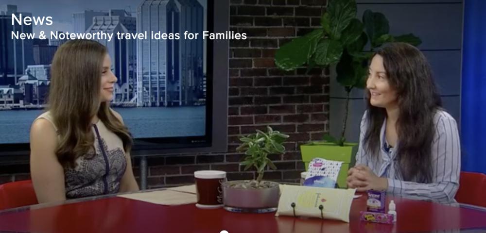 Global Halifax- family-travel-fall-tv segment-television-Jaime Damak-Je suis une maman
