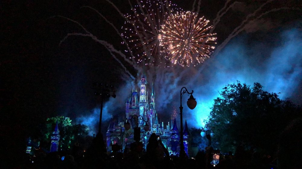 Feux d'artifice-fireworks-spectacle-clou de la soirée-voyage à Disney - Happily Ever After- Disney World-Walt Disney World-Je suis une maman