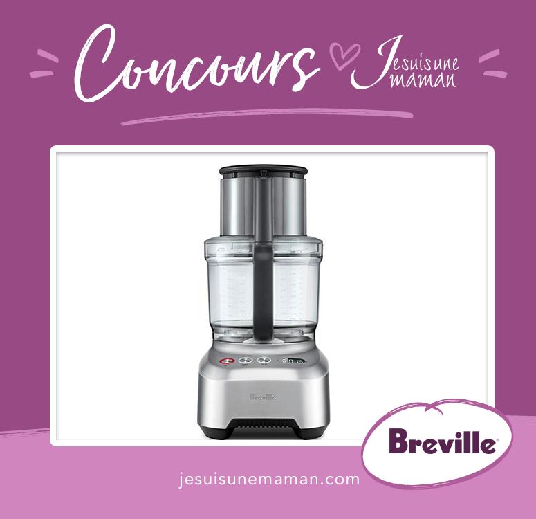 Concours Breville-À gagner-Cuisine-Famille-Sous Chef 16 Peel & dice- nouveauté-maman-Je suis une maman