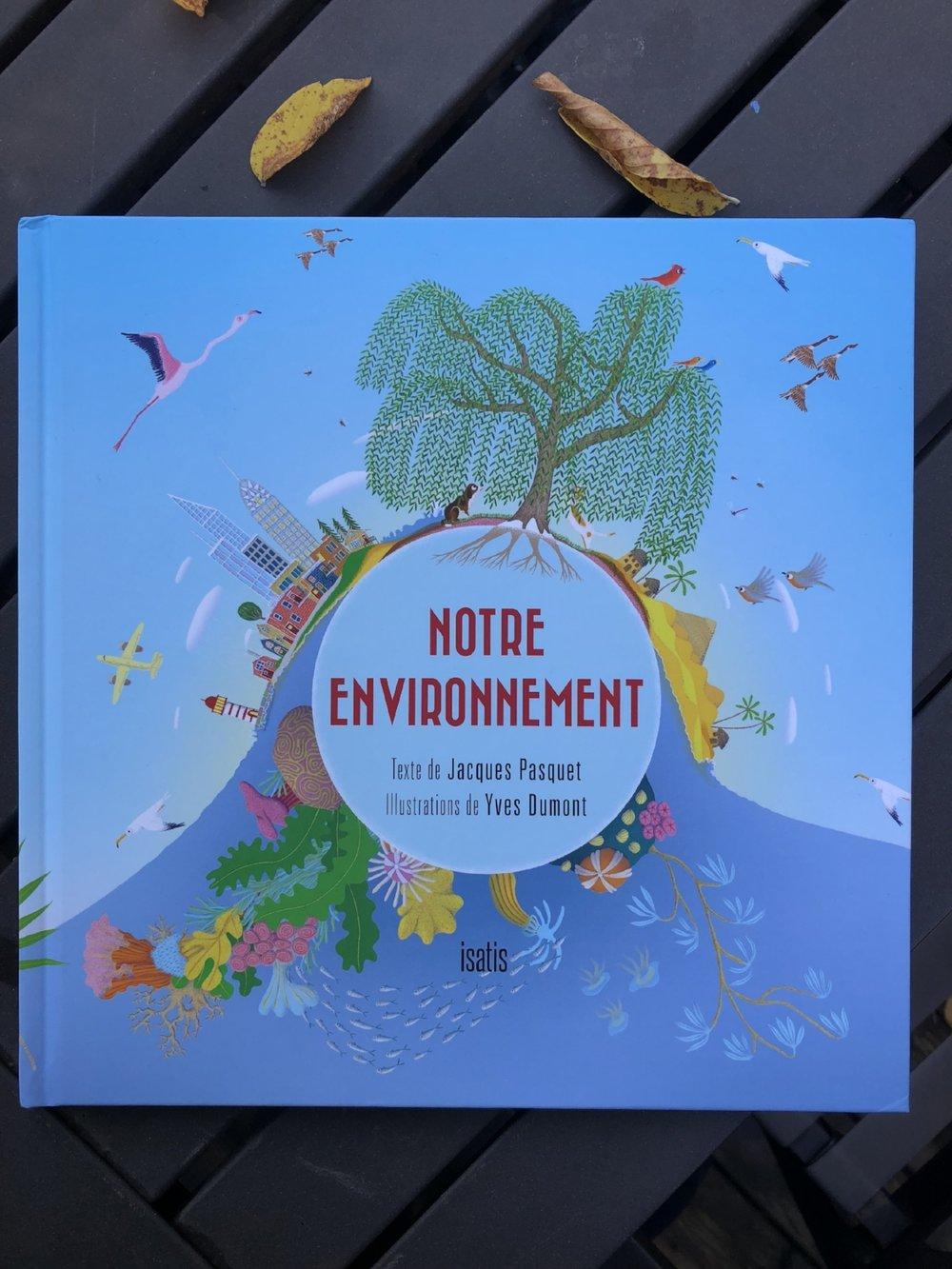 Notre environnement-livre jeunesse-littérature-album pour enfant-éditions de l'Isatis-documentaire-Conscience environnementale-suggestion lecture-enfant-livre-famille-Je suis une maman