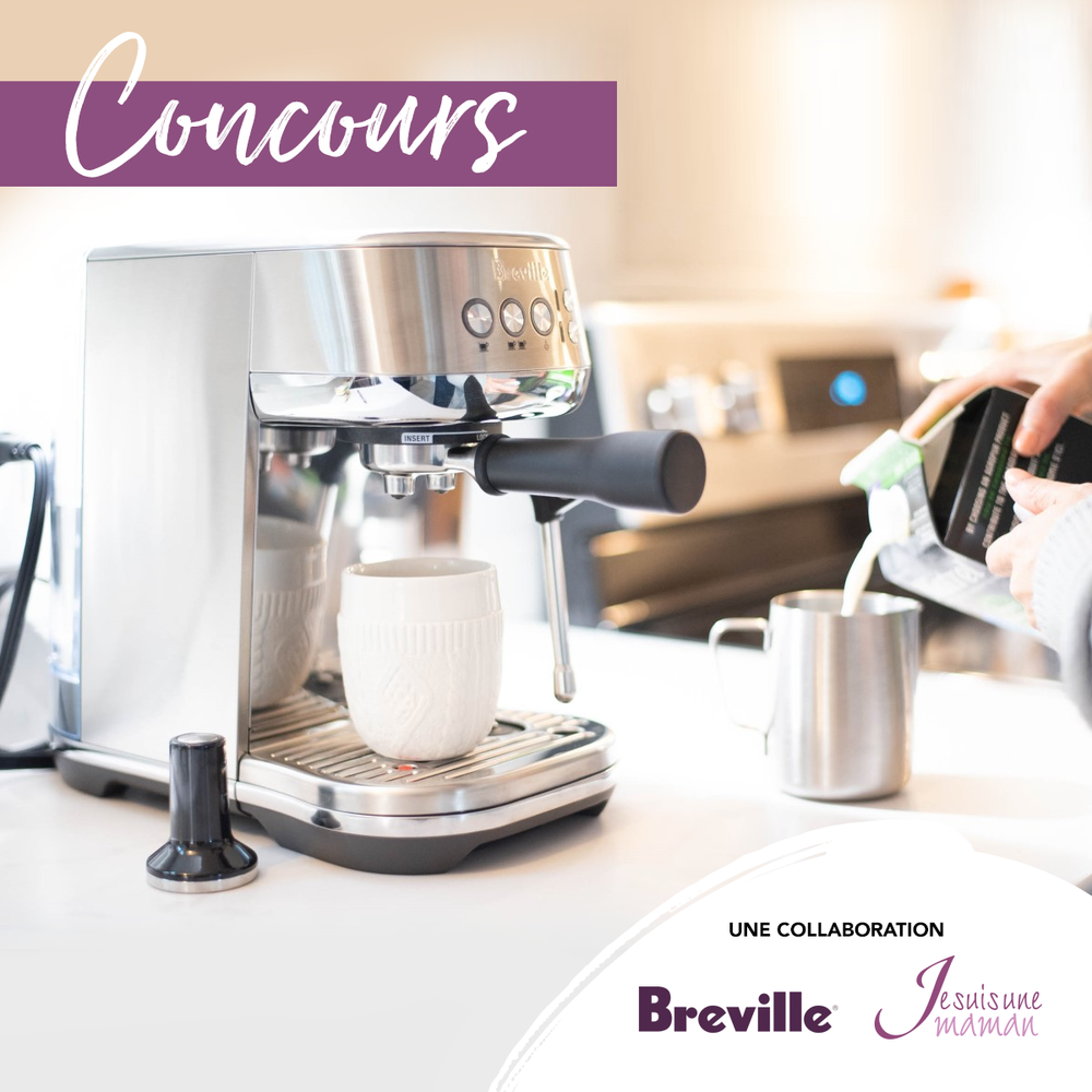 Concours Breville-cafétière-Bambino Plus-Je suis une maman