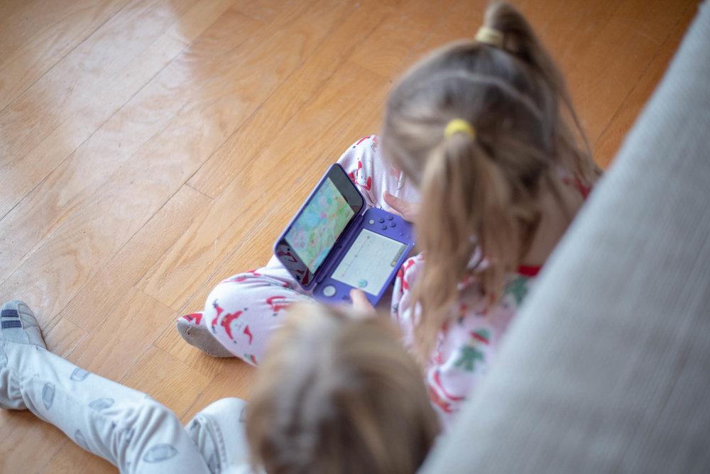 New Nintendo 2DS XL-Nintendo-Console de jeu portative-jouer-jeu vidéo-Mario Bros-Luigi-enfant-idée cadeaux-petits-Je suis une maman