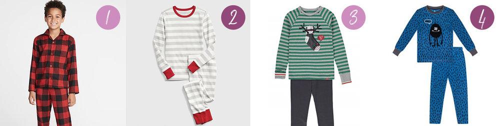 pyjamas pour les gars-toddler-jeunes garçons-idées cadeaux-pyj-souri mini- clément-old Navy-gap-Je suis une maman