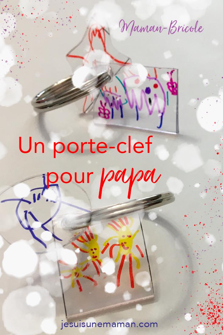 cadeaux à offrir à Noël-DIY-idées cadeaux-Fêtes-porte clef-acétate qui rapetisse-brico-MamanBricole-#MamanBricole