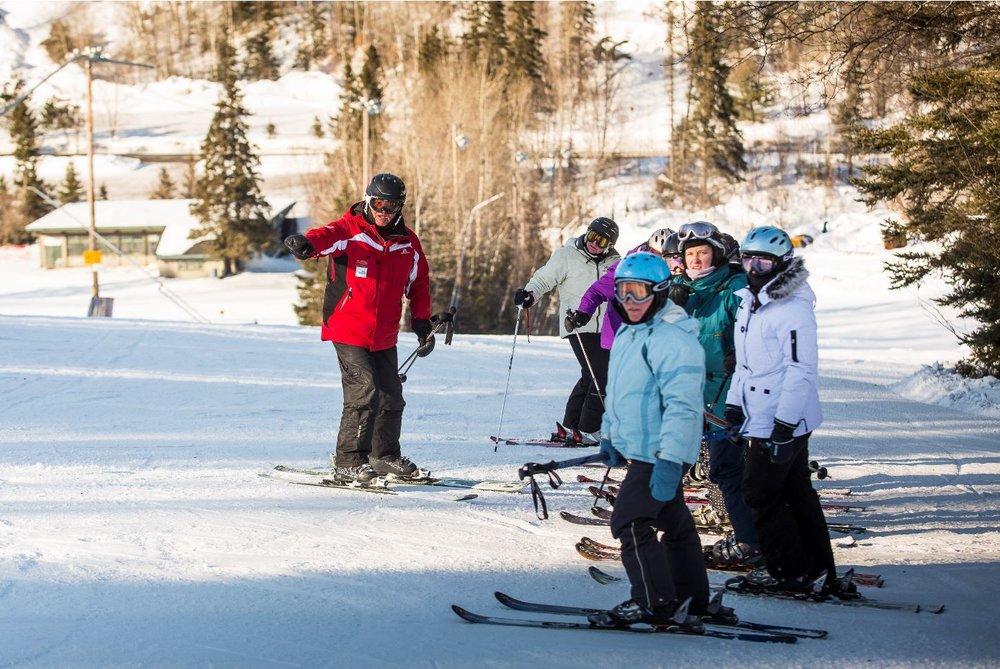 Ma première fois-Maneige.ca-Sports Experts-initiation au ski-descente-montagne-Cours-promotion-Je suis une maman