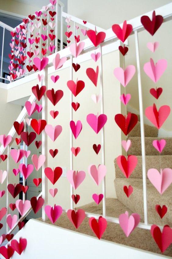décoration DIY pour la Saint Valentin-Fait main-fait maison-décorer-coeur-amoureux-Valentin-famille-Je suis une maman