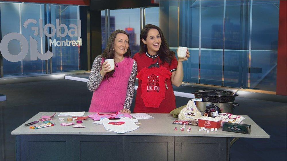 Global Montreal-Jaime Damak-Saint Valentin-chronique télé-trucs-fête de l'amour-je suis une maman