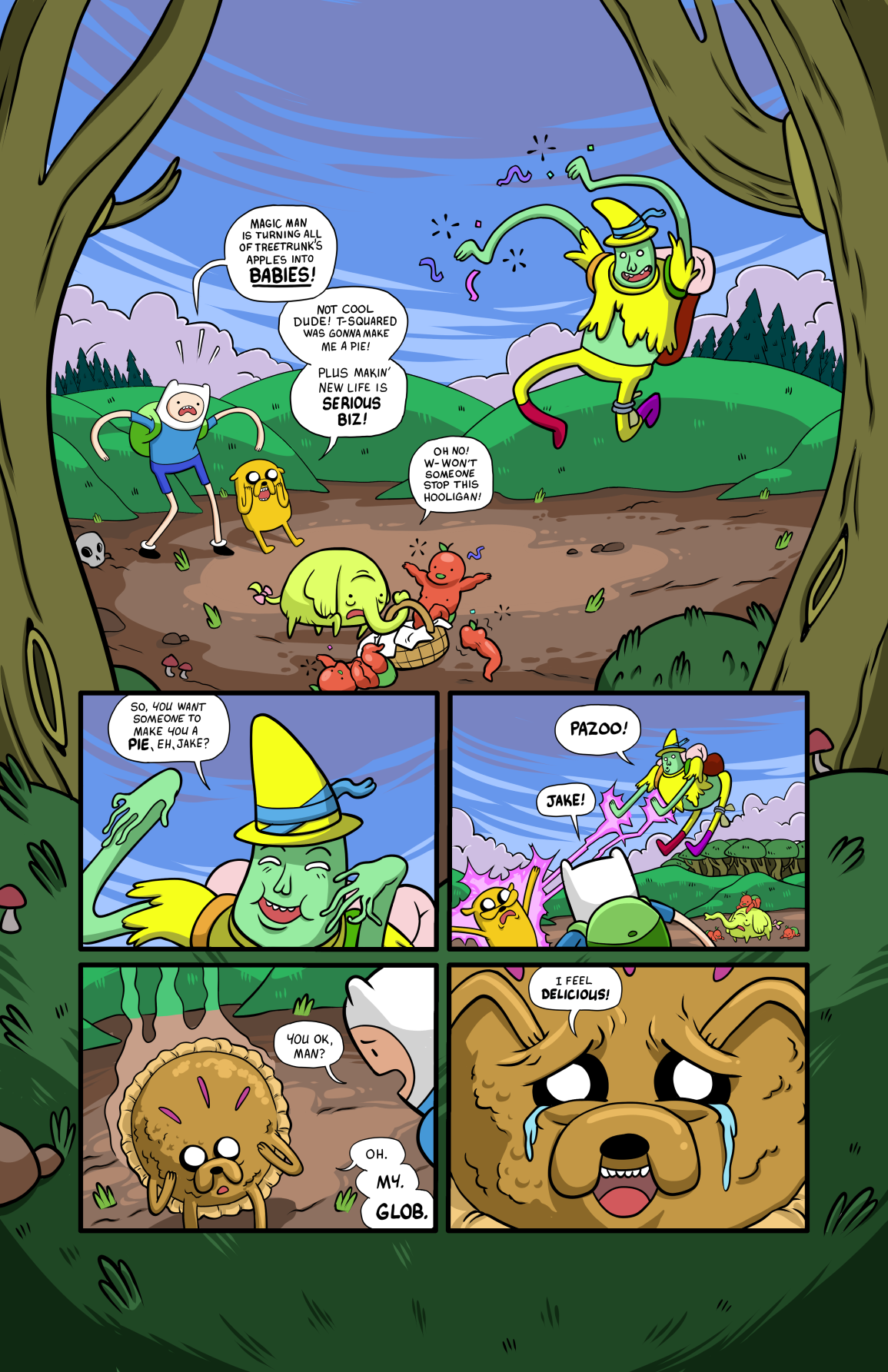 Adventure Time comic