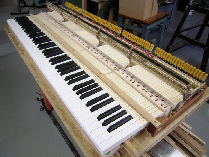 New Steinway A Keyset with new Tokiwa Backchecks