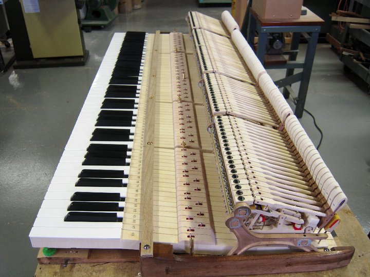 New custom Steinway Keys on orignal frame.