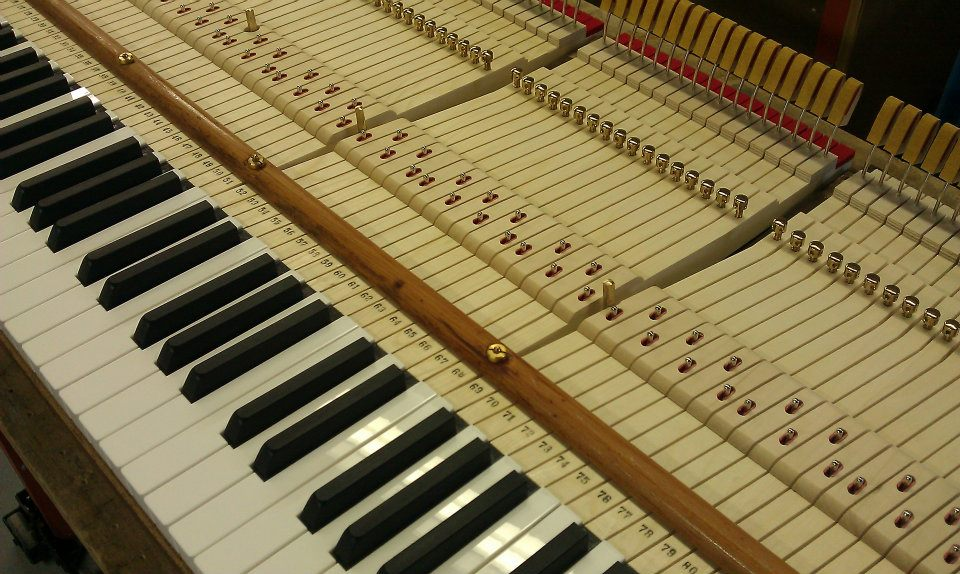 New custom ivory keys on vintage Steinway A.
