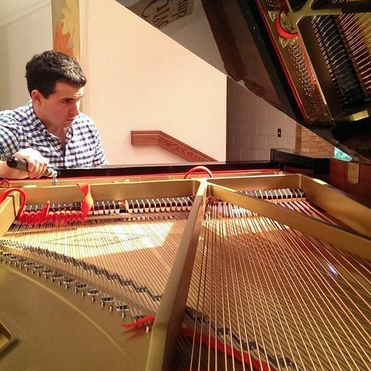 Detroit Pianoworks Founder, Piano-technican Richard Cromwell