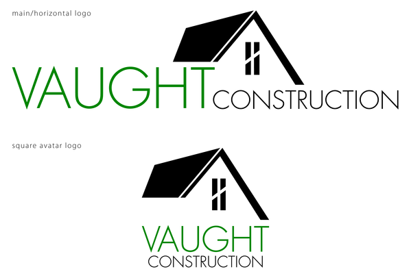 Vaught Construction | Irmo, SC Logo and Branding
