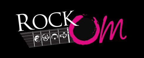 RockOm.net | Multi-faith music website Logo design