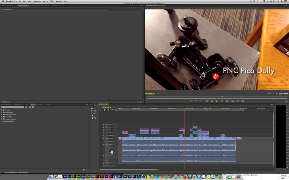 "On the strugglebus in Adobe Premiere with ""variable frame rate"" footage."