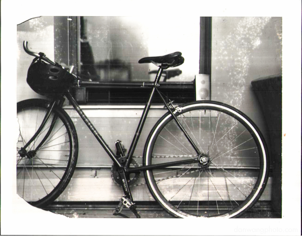 The single speed, expired Type 665 in the 110A. Lit with a broncolor Minicom inside a 2x2 bank.