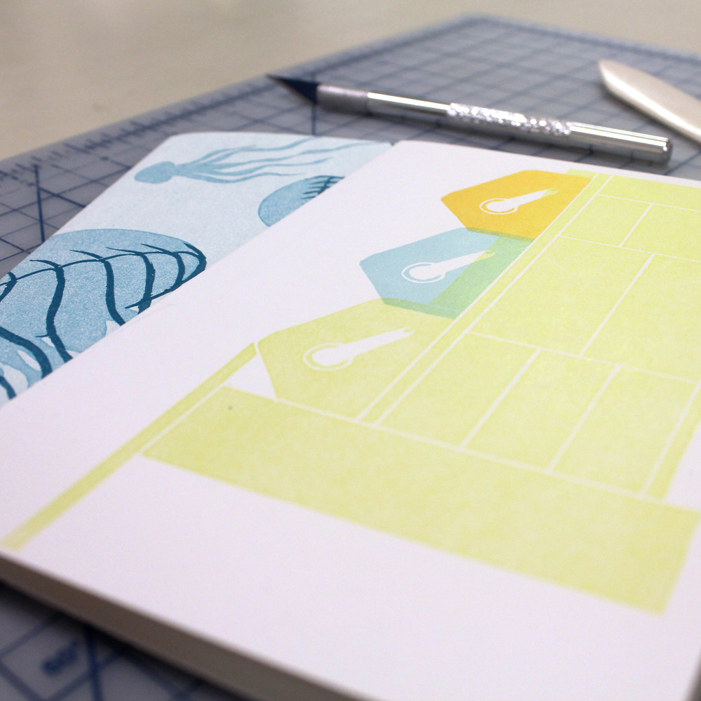 Letterpress Greeting Cards