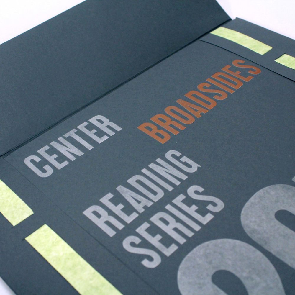 Center Broadsides Reading Series Portfolio