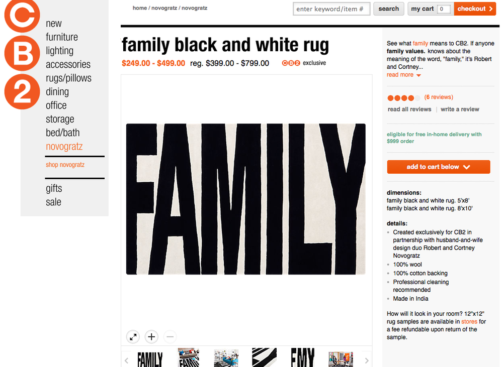 Family Rug by Novogratz - Now on SALE !!