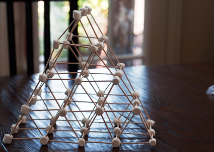 how to build a tower with marshmallows and spaghetti