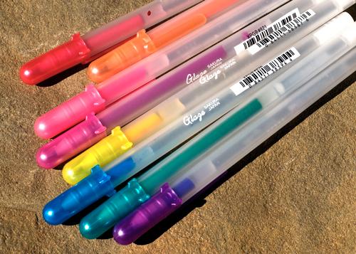 Sakura Glaze pens.