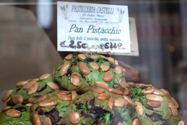 Pistaccio bread, Venice