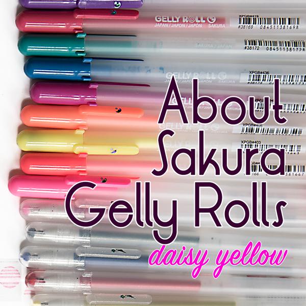 Sakura Gelly Roll User Guide