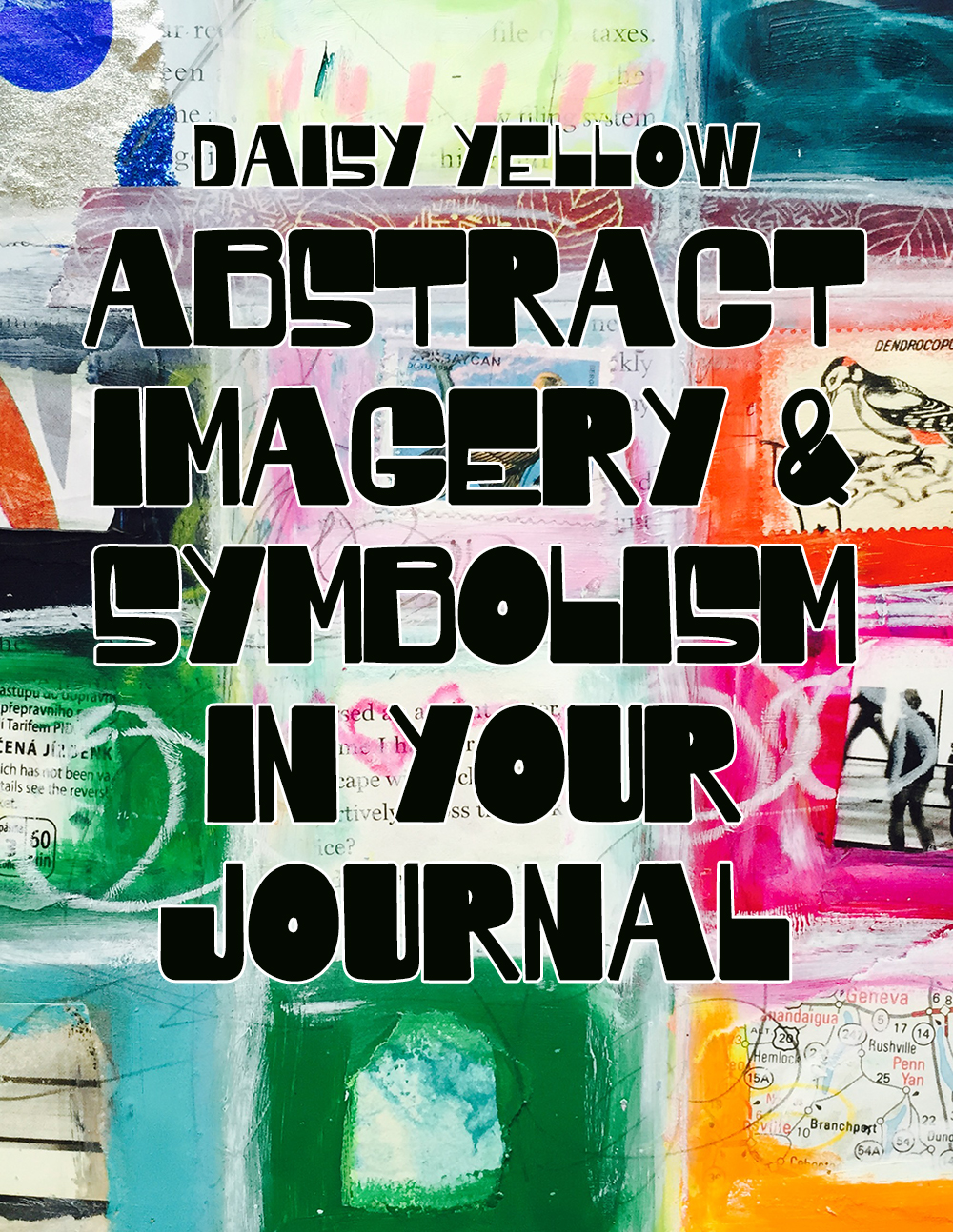 Abstract Imagery Symbolism In Art Journals