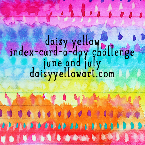 Take the index-card-a-day challenge, starting June 1.